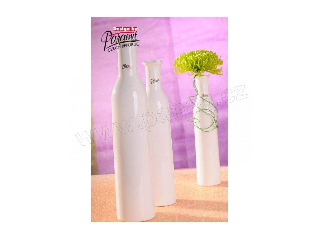 Karin váza bílá 35 cm  - Paramit - 12037-35W