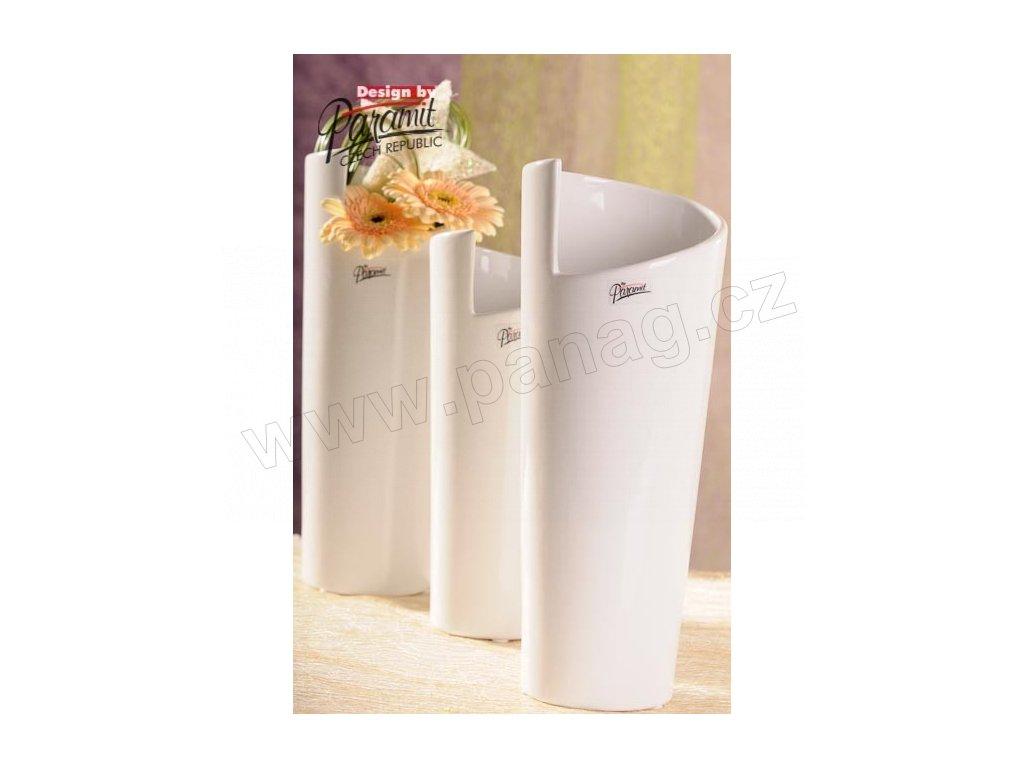 Médea váza bílá 31 cm  - Paramit - 11025-31W