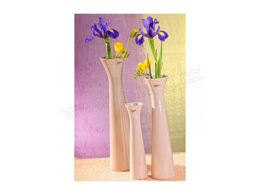 11070 34C Sisi váza béžová 40 cm