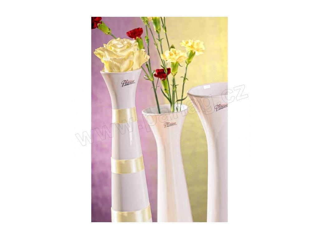 11070 40W Sisi váza bílá 40 cm