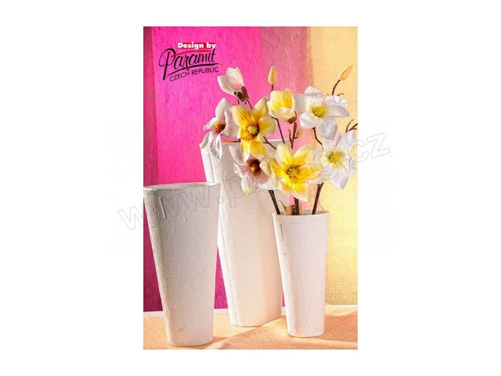 Terakota váza bílá 41 cm  - Paramit - 5030-41