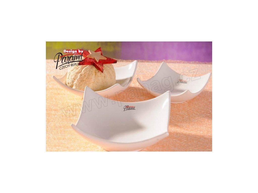 Ramona miska bílá 14 cm  - Paramit - 12041-14W