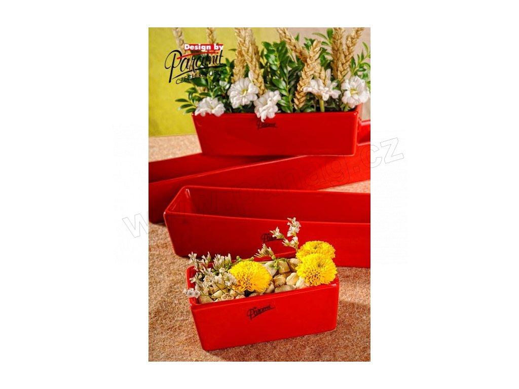 Vlasta žardinka červená 12 cm  - Paramit - 11085-12R