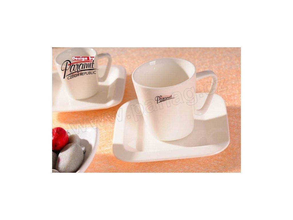 Makao šálek+podšálek 150 ml  - Paramit - 6501