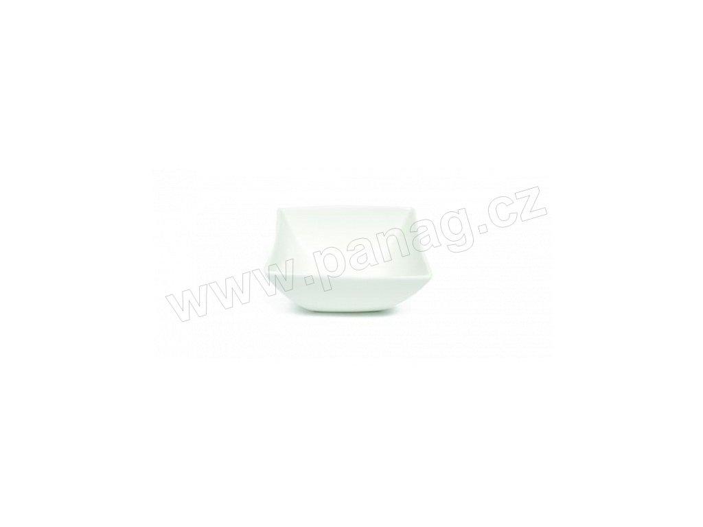 Porcelánová miska polévková čtvercová 24 - East meets west - Maxwell&Williams