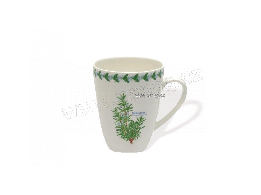 Porcelánový hrnek 380 ml Rozmarýn - Fragrant garden  - Maxwell&Williams