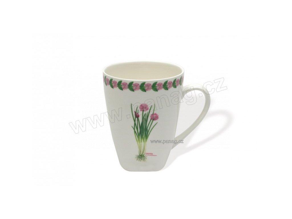 Porcelánový hrnek 380 ml Pažitka - Fragrant garden - Maxwell&Williams