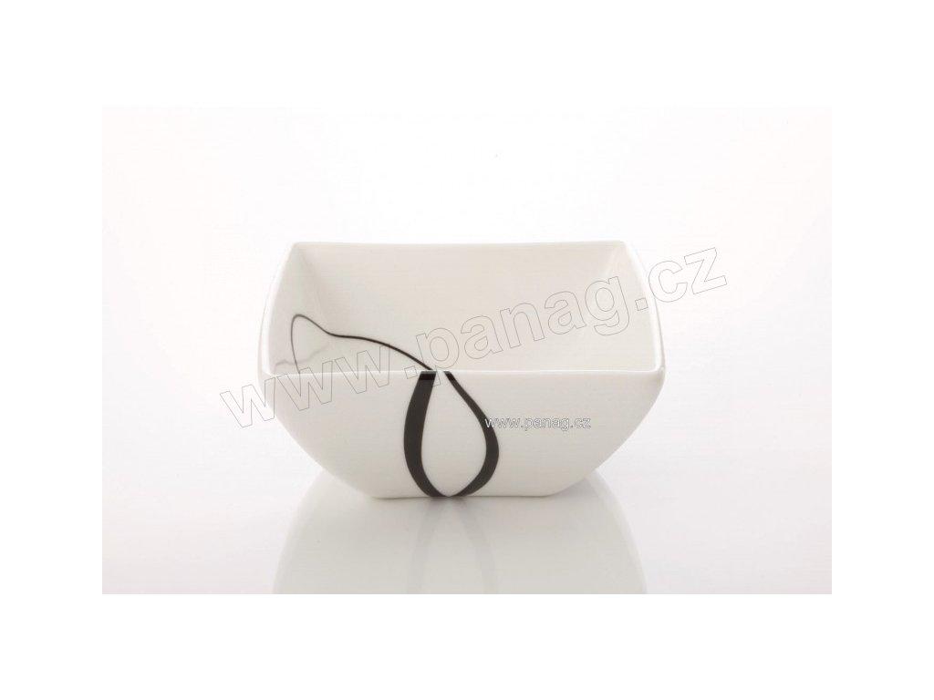 Porcelánová miska na dezert čtvercová 10 cm - Breeze - Maxwell&Williams