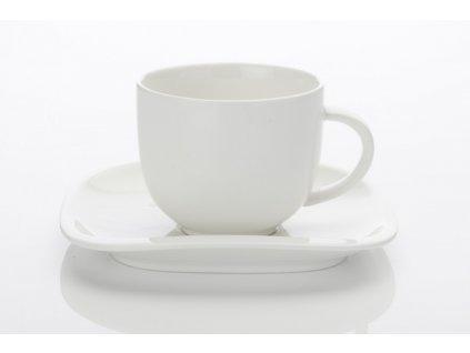 Porcelánový šálek a podšálek 300 ml -  Balance - Maxwell&Williams