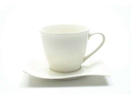 Porcelánový šálek a podšálek 230 ml - Motion - Maxwell and Williams