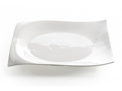 Porcelánový čtvercový podnos 30 cm - Motion - Maxwell and Williams