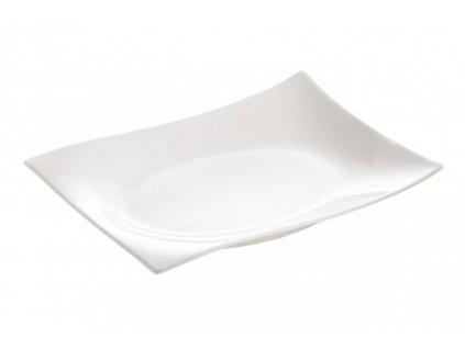 Porcelánový obdélníkový  tác 20x15 cm - Motion - Maxwell and Williams