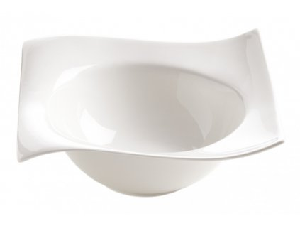 Porcelánová čtvercová miska 19 cm - Motion - Maxwell and Williams