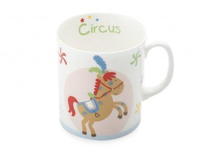 Porcelánový hrnek pro děti poník Childrens Circus - Maxwell Williams