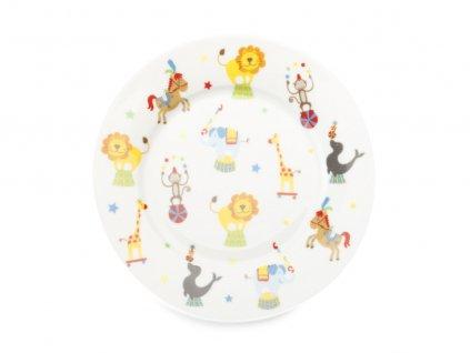 Porcelánový talíř pro děti 19 cm Childrens Circus - Maxwell Williams
