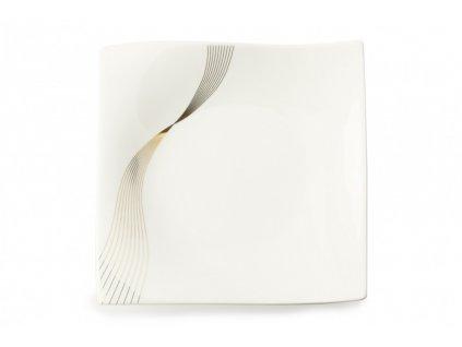 Porcelánový talíř čtvercový 22 x 22 cm - Frequency  - Maxwell and Williams