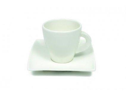 Porcelánový šálek s podšálkem na Espresso picollo 80 ml - East meets west JX251211 - Maxwell and Wil