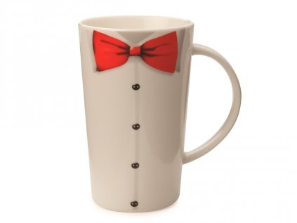 Porcelánový hrnek White The Gengleman Conical Mug 420 ml - Maxwell&Williams