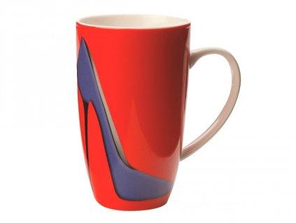 Porcelánový hrnek Sky High Coupe Mug 420 ml Red - Maxwell&Williams