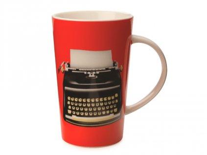 Porcelánový hrnek Memo Conical Mug 420 ml Red - Maxwell&Williams