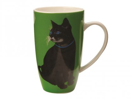 Porcelánový hrnek Claws Coupe Mug 420 ml Green - Maxwell&Williams