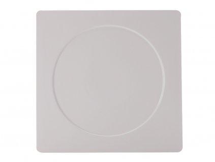 Porcelánový čtvercový talíř Metrix - kruh 30,5 x 30,5 cm - Maxwell&Williams