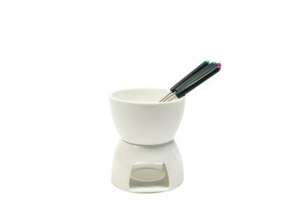 Fondue čokoládové bílé - WHITE BASICS - Maxwell&Williams