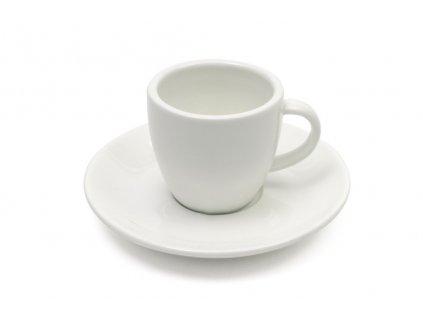 Šálek na espresso 100 ml s podšálkem bílý - WHITE BASICS - Maxwell&Williams