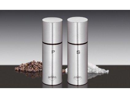 Set mlýnků na pepř a sůl nerez - Tavola malý - Küchenprofi - 3044022812
