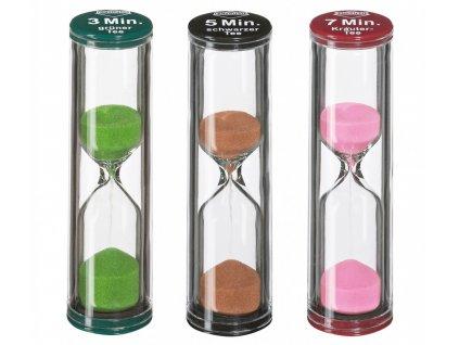 Přesýpací hodiny - set 3 ks (3, 5, 7 minut) - Küchenprofi - 1009260000