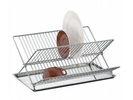 Odkapávač na nádobí s tácem nerez - Küchenprofi - 1090353800