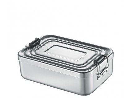 Svačinový box malý, stříbrný - Küchenprofi - 1001462418