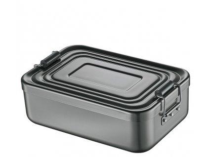 Svačinový box velký, antracit - Küchenprofi - 1001471323