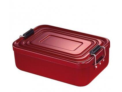 Svačinový box velký, červený