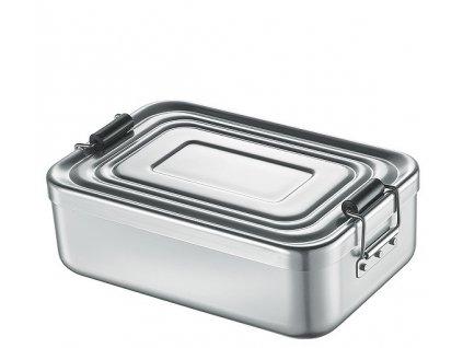 Svačinový box velký, stříbrný - Küchenprofi - 1001472423