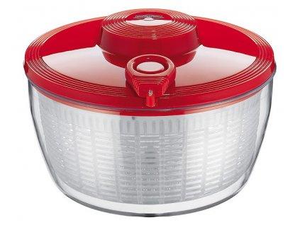 Odstředivka na salát 24 cm červená - Küchenprofi - 1310171400