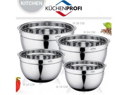 Miska s protiskluzovým povrchem 24 cm - Küchenprofi - 2505402824