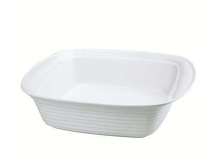 Obdélníková mísa na lasagne 24 x 15 x 6,5 cm, bílá - Küchenprofi - 0750218224
