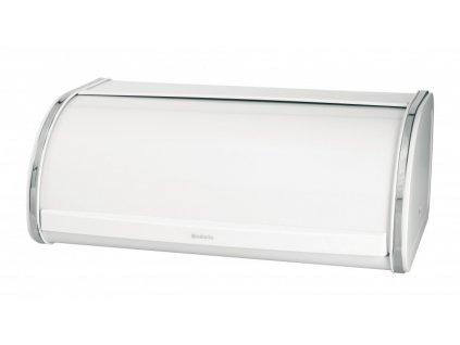 Chlebník Roll Top , Bílá 17,5 x 44,5 x 27 cm