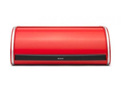 Chlebník Roll Top , Zářivě červená 17,5 x 44,5 x 27 cm