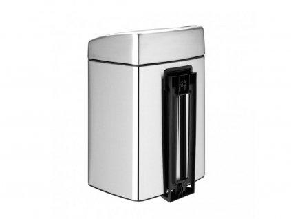 Odpadkový koš  10 l Touch Bin® čtvercový - matná ocel FPP