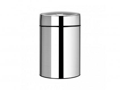477560 Odpadkový koš SLide bin 5 l od Brabantia lesklá ocel