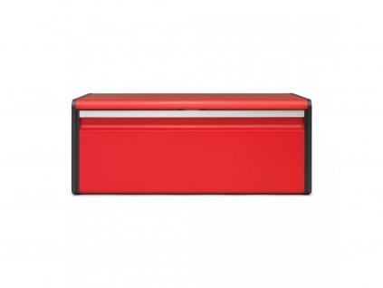 484025 CHlebník Fall front v krásné zářivě červené barvě od Brabantia bez pozadí