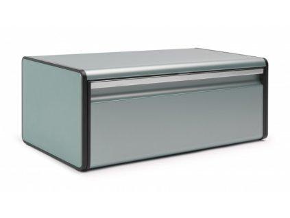 Chlebník Fall Front , Metalická mátová 19 x 46,3 x 25 cm
