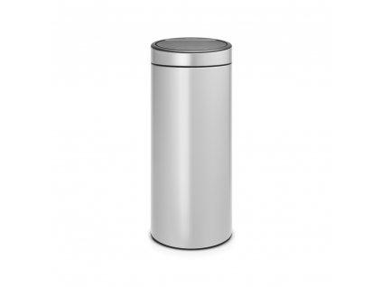 Koš Touch Bin New - 30 L , Metalická šedá