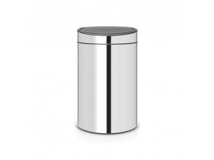 Koš Touch Bin - 40 L , Lesklá ocel
