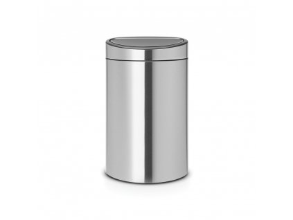 Touch Bin Recycle koš na tříděný odpad- 10+23 L , Matná ocel