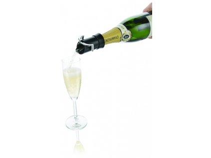 Nálevka na šampaňské s uzávěrem