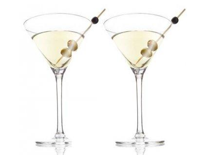 Sklenice na Martini - set 2 ks