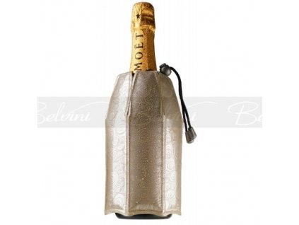 Chladící návlek na šampaňské platinum